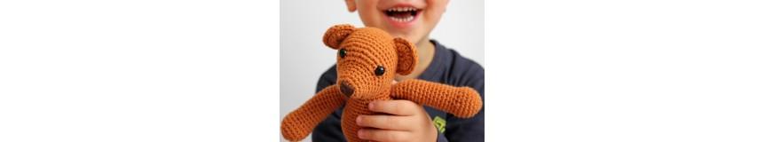 Przytulanki, ozdoby, kocyki i inne ręcznie robione cuda dla dzieci.